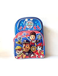 "Backpack - Paw Patrol - Big Head 3D 16"" Large School Bag New 055348"