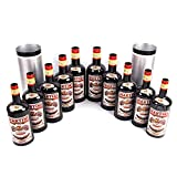 Enjoyer Multiplying Bottles/Moving Increasing Black Bottles Magic Tricks Props Stage Magician Illusion (10 Bottles,Poured Liquid)