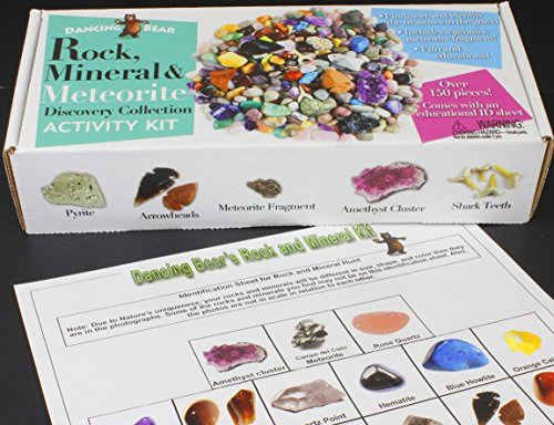 rock-mineral-collection-activity-kit-over-150-pcs-with-educational-identification-sheet-plus-a-genui