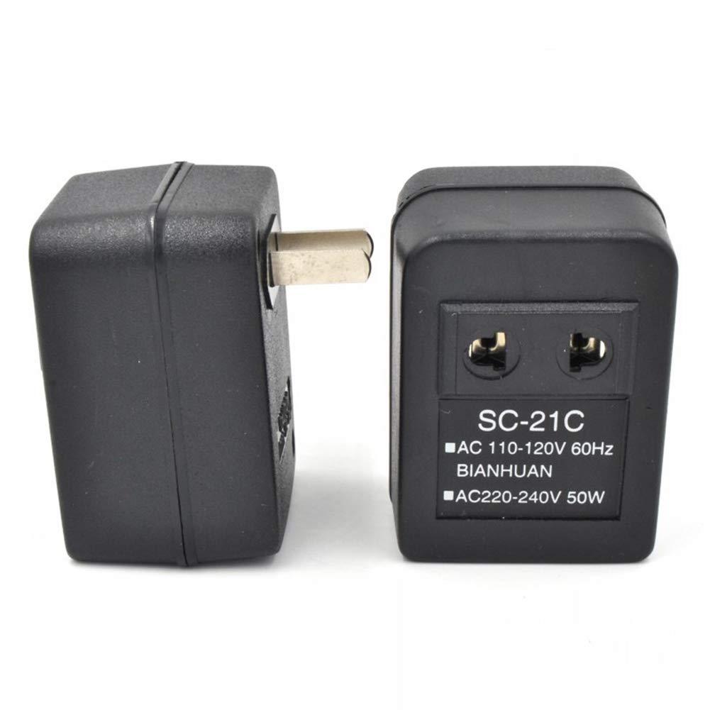 ccsfrgtrh AC 220/V A 110/V//110/V A 220/V regolatore del trasformatore del Viaggio del Adattatore del convertitore di Tensione di Corrente alternata 20/W 110V TO 220V