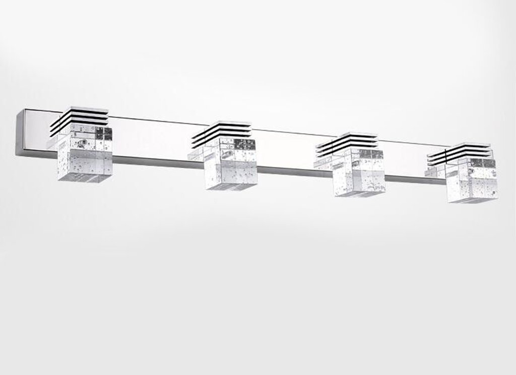 61cm 12W Miaoge High Power LED Spiegel Frontlampe modern minimalistisch Bad Beleuchtung Kristall-Leuchte Schlafzimmer Bad Beleuchtung 14cm 3W