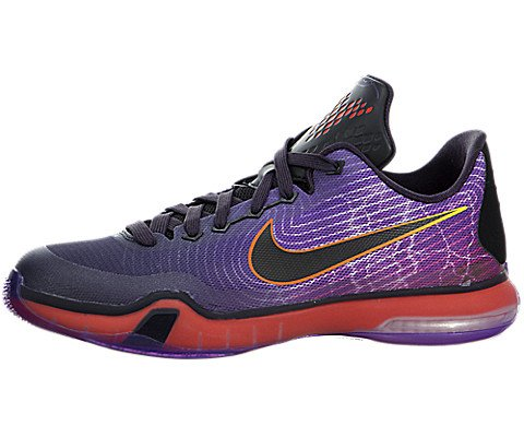 Nike Kobe X GS 10 CavePurple/Court Purple-LtCrimson-Blck ...