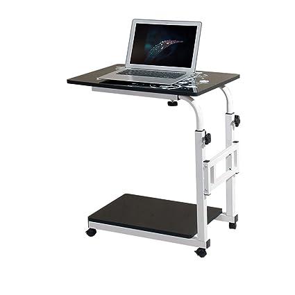 Escritorio del Ordenador portátil Rotate Move Escritorio del hogar Mesa de enfermería (Color : 7