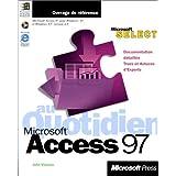 access 97 au quotidien (avec cd-rom)