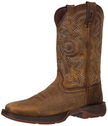 Durango Men's Rebel Work Boot Square Toe Brown 14 D US