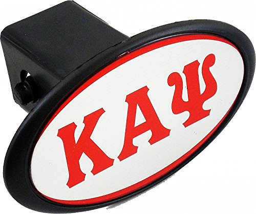 Cultural Exchange Kappa Alpha Psi Mirror Domed Trailer Hitch Cover [Black - 2