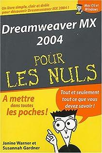 Dreamweaver MX par Warner