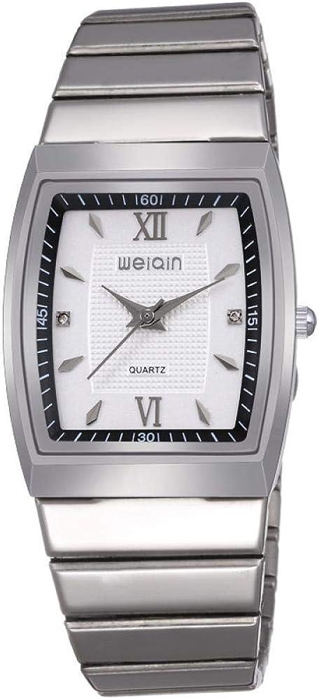 Relojes De Pulsera Classic Square Romance Quartz Watch Casual Reloj Simple para Parejas