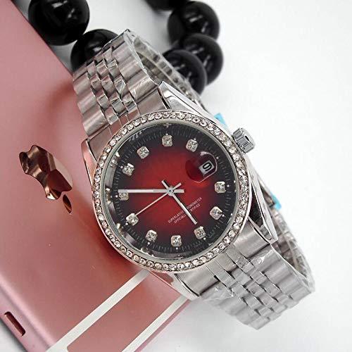 - Diamond Bangle Bracelet Relogio Masculino Luxury Designer Mens Watches Fashion Brand Gold Wristwatches Men Diamond Watch Silver Steel Strap Quartz Clock