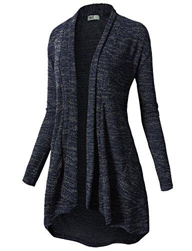 H2H Womens Sleeve Draped Cardigan