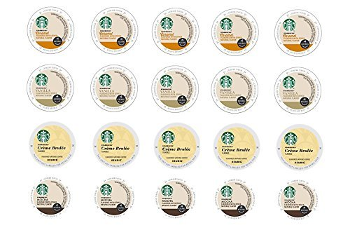 20 Count Variety Starbucks Flavored