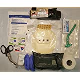 Complete USGI based Medical IFAK Trauma Kit Refill Supplies with CAT Tourniquet and Israeli compression bandage
