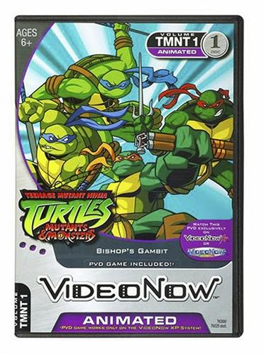 "Videonow Personal Video Disc: Teenage Mutant Ninja Turtles - ""Bishop's Gambit"" Hasbro 76368"