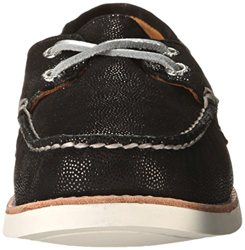 Sperry Top-sider Goud Damen Authentieke En Originele 2-eye Boot Schuh Schwarz