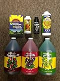 General Hydroponics Flora Series Gallons + KoolBloom, Floralicious Plus, and Rapid Start
