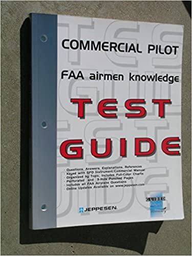 23472193716 Commercial Pilot FAA Airmen Knowledge Test Guide  For Computer Testing  Edition Unstated Edition