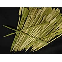 Happy Sales Tapered Heavy Bamboo Skewers 7 pulgadas 100 piezas