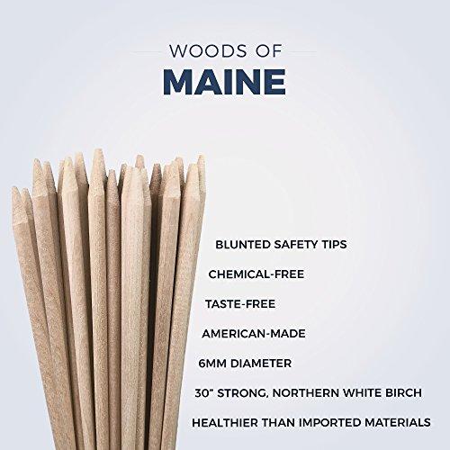 Marshmallow Roasting Sticks American Made White Birch