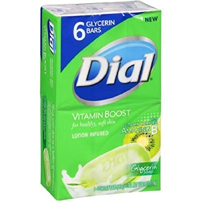 Dial Vitamin Boost Lotion Infused Glycerin Soap by Dial