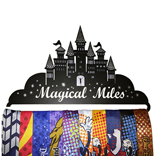 Gone For a Run | Runner's Race Medal Hanger | Magical Miles
