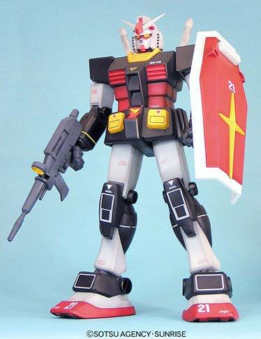 Gundam Jumbo Grade RX-78 Gundam Real Type Color by Bandai