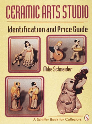 Ceramic Arts Studio: Identification and Price Guide (Schiffer Book for - Pottery Vintage