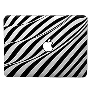 ZCL Artistic Work of Waves Pattern Transparent PC Hard Case for MacBook Air (Assorted Colors) , Red , 11.6""