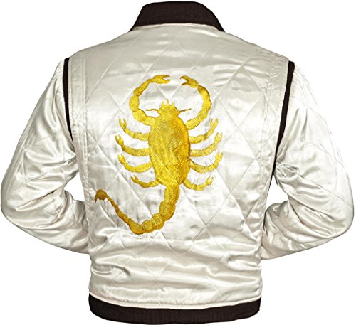 New Drive Jacket - Ryan Gosling Famous Drive Scorpion Jacket (L) -