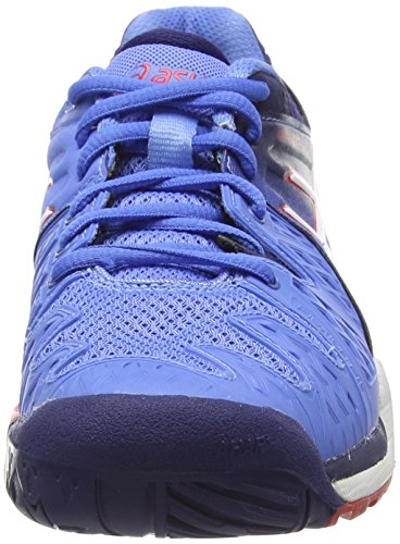 Asics Gel-Resolution 6, Women's Tennis Shoes Blue (Powder Blue/White/Hibiscus 4701)