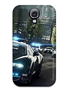 NJpBpVa2482zDCqz Case Cover Protector For Galaxy S4 Need For Speed Rivals Bugatti Cop Car Case