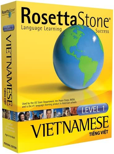 Amazon Com Rosetta Stone V2 Vietnamese Level 1 Old Version Software