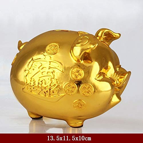 - Figurines & Miniatures - Modern Resin Pig Figurines Home Decoration Accessories Baby Piggy Bank Saving Cash Coin Money Box Birthday Gift Miniature Statue - by GTIN - 1 Pcs