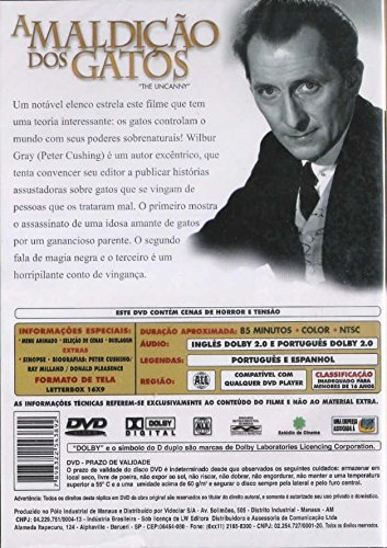 Amazon.com: A Maldição Dos Gatos: Peter Cushing, Ray Milland, Denis Héroux: Movies & TV