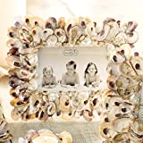 Oyster Shell Picture Frame 4'' X 6''