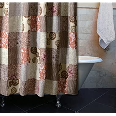 Greenland Home Stella Patchwork Shower Curtain