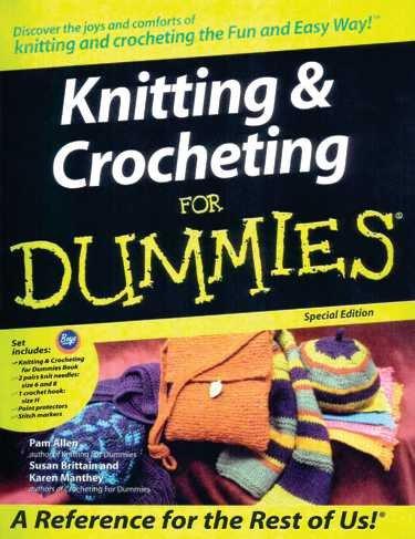 Boye Knitting Crocheting For Dummies