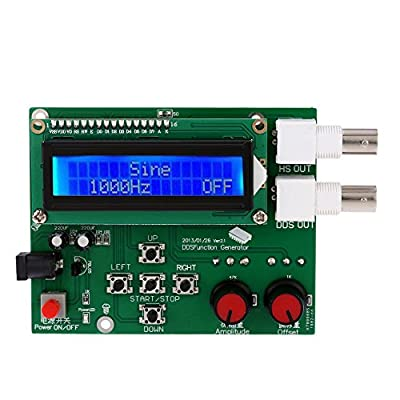 Gabion(TM) 1Hz-65534Hz frequency Meter DDS Function signal generator diy kit frequency generator Module Sine Square Sawtooth Triangle Wave
