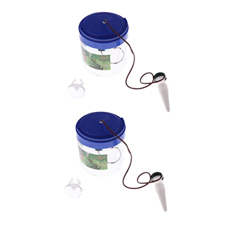 2 Unidades Dispensador de Agua Fuente de Agua Potable de Reptil ...