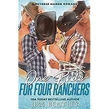 One Bride for Four Ranchers: A Reverse Harem Romance