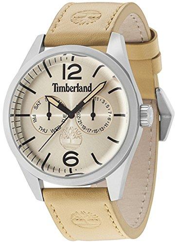 Timberland Middleton Mens Analog Quartz Watch with Leather Bracelet 15018JS-07