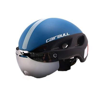 Ligero Cómodo Casco de bicicleta para adultos Casco de equitación de bicicleta Casco de seguridad de
