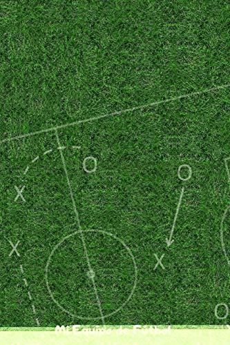 Mi Equipo de Fútbol: 110 Páginas para Registrar Entrenamientos o Entrenar Jugadas | Regalo Perfecto para Entrenadores de Fútbol | Con Esquemas de Campos de Fútbol y Espacio para Notas por Libretas de Fútbol