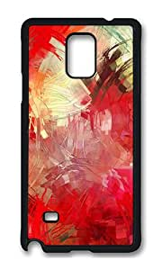 Samsung Note 4 Case,VUTTOO Cover With Photo: Paint Brushes For Samsung Galaxy Note 4 / N9100 / Note4 - PC Black Hard Case