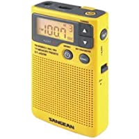 Sangean DT400W AM/FM Digital Weather Alert Pocket Radio