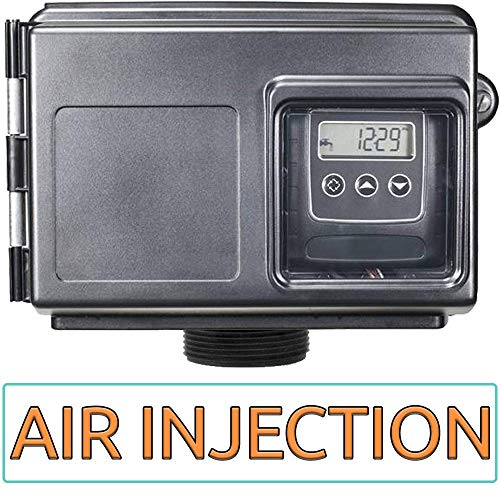 AIS10-25SXT AFW Air Injection Iron, Sulfur, and Manganese Removal Oxidizing Water Filter, Almond Or Black ()
