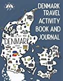 Denmark Travel Activity Book and Journal