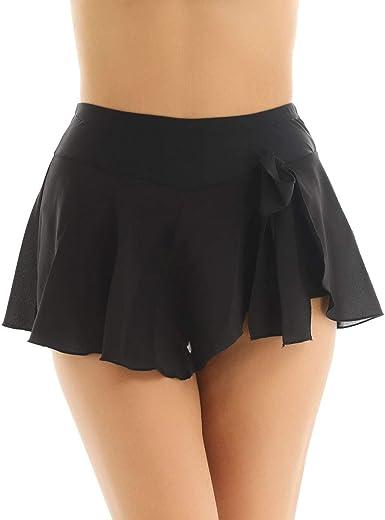 inlzdz Women's Girls High Waist Figure Ice Skating Short Skirt Active  Training Gymnastics Skirts at Amazon Women's Clothing store