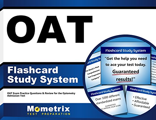 OAT Flashcard Study System: OAT Exam Practice Questions & Review for the Optometry Admission Test (Cards)