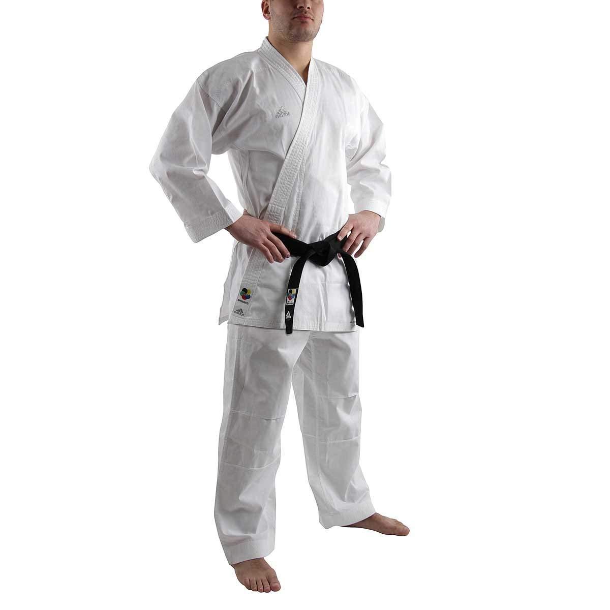 アディダス(adidas) 空手衣(WKF公認) 組手ファイター B01F91YRI0  155cm