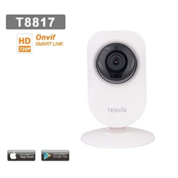 Tenvis T8817 - Cámara de vigilancia HD 1280 x 720P H264 ip wifi inalámbrico - Application
